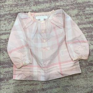 Children's Burberry Shirt 6 Months